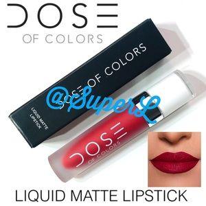 2/$20 Dose Colors Liquid Matte Lipstick Date Night